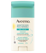 Aveeno Sensitive Skin SPF 50 Mineral Sunscreen Stick
