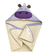 3 Sprouts Hooded Towel Hippo