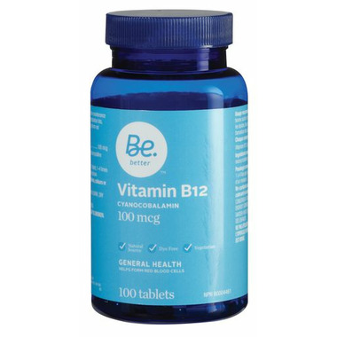 Be Better Vitamin B12 Cyanocobalamin