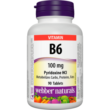 Webber Naturals Vitamin B6