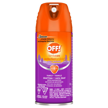 Off! Familycare Aerosol Insect Repellent 8 Deet Free