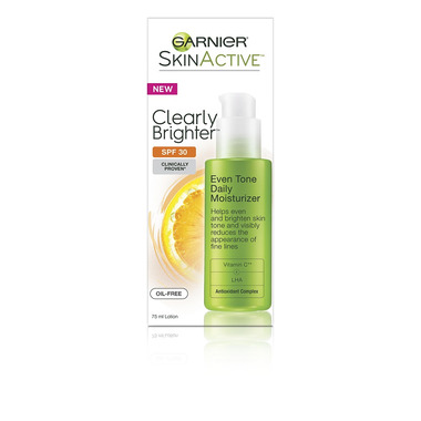 Garnier Clearly Brighter Even Tone Daily Moisturizer
