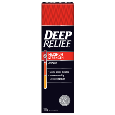 Deep Relief Warming Muscle Ache Relief Ultra Strength Rub