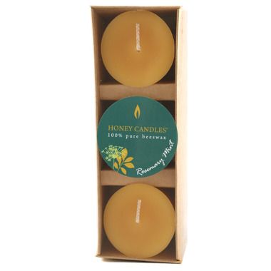 Honey Candles Essentials Votive Candles Rosemary Mint