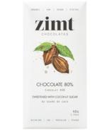 Zimt Chocolates Chocolate 80% Coconut Sugar Chocolate