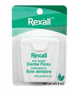 Fil dentaire ciré Rexall Menthe