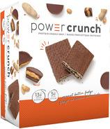 Barre énergétique protéinée Power Crunch caramel au beurre de cacahuète