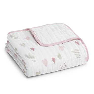 aden + anais Classic Dream Blanket Heartbreaker