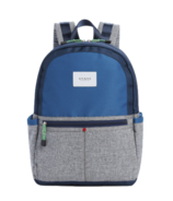 STATE Kane Backpack Colour Block Navy/Heather Grey