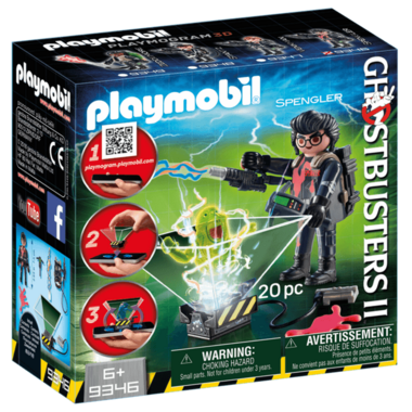 Playmobil Egon Spengler with Ghost