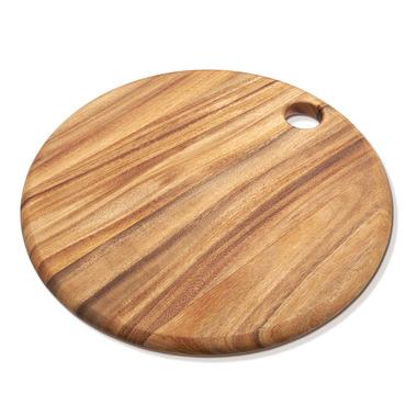 Ironwood Gourmet Round Everyday Acacia Wood Cutting Board