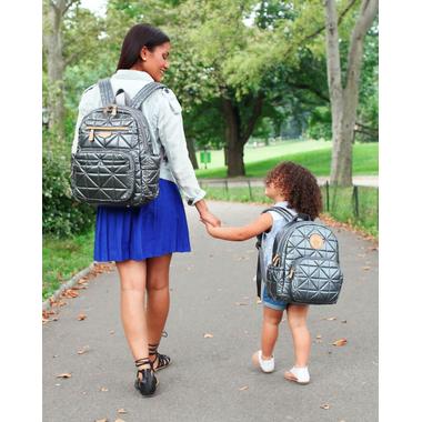 TWELVElittle Little Companion Backpack Pewter
