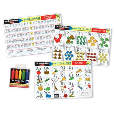 Melissa & Doug Alphabet and Numbers Placemat Bundle
