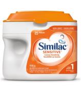 Préparation en poudre pour nourrissons de Similac, première étape, sensibilité au lactose