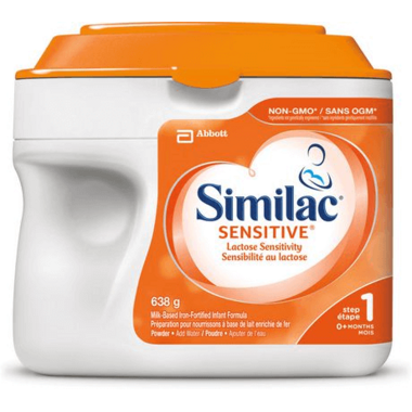 Similac Sensetive Step 1 Lactose Sensitivity Infant Formula Powder