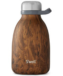 S'well Teakwood Stainless Steel Roamer Wood Collection