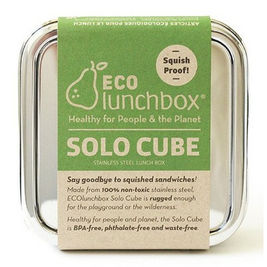ECOlunchbox Solo Cube Stainless Steel Container