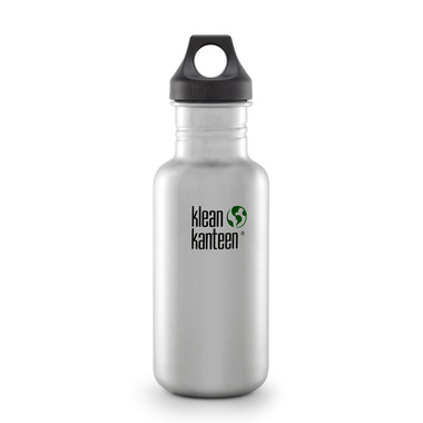 Klean Kanteen Classic Loop Cap Brushed Stainless
