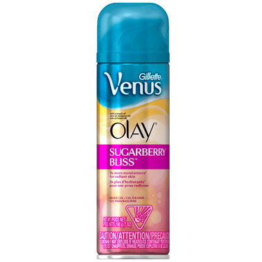 Gillette Venus with a Touch of Olay Shave Gel in Sugarberry Bliss