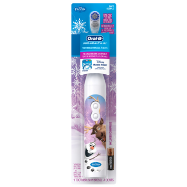 Oral-B Pro Health Jr Frozen Battery Power Toothbrush