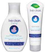 Live Clean Baby Calming Bedtime Bundle