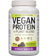 Webber Naturals Active Nutrition Vegan Protein Chocolate
