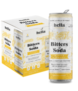 Hella Cocktail Co. Bitters & Soda Dry Ginger Turmeric