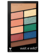 Wet n Wild Color Icon 10 Pan Eyeshadow Palette Stop Playing Safe