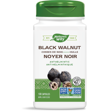 Nature\'s Way Black Walnut Hulls
