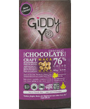 Giddy Yoyo Organic Maca 76% Dark Chocolate Bar