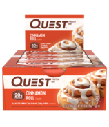 Quest Nutrition Protein Bar Cinnamon Roll Case