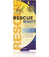 Bach Rescue Nuit Capsules de liquide qui fond