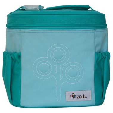 Zoli Nom Nom Insulated Lunch Tote Mint