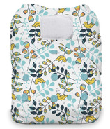 Thirsties Natural One Size All in One Hook & Loop Diaper Birdie