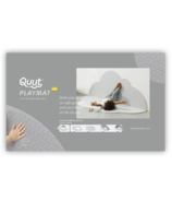 QUUT Head in the Clouds Large Playmat Pearl Grey