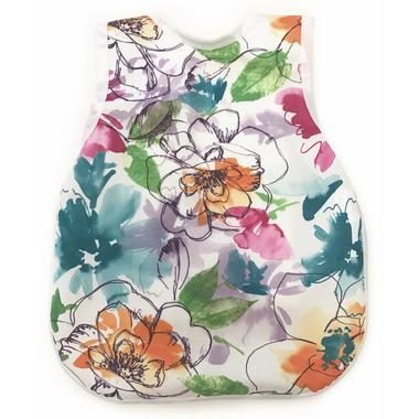 BapronBaby Bib Vibrant Painted Floral