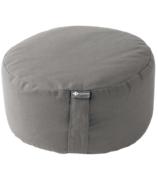 Halfmoon Yoga Mod Meditation Cushion Fossil Grey
