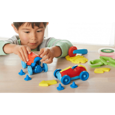 Green Toys Race Car Maker Dough Set
