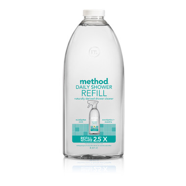 Method Daily Shower Cleaner Refill Eucalyptus Mint