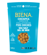 Biena Foods Chickpea Snacks Sea Salt