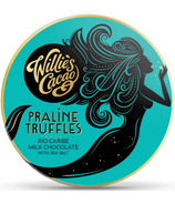 Willie's Cacao Praline Truffles Rio Caribe Milk Chocolate with Sea Salt