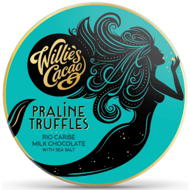 Willie\'s Cacao Praline Truffles Milk Chocolate with Sea Salt