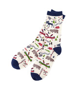 Hatley Men's Crew Socksketch Country