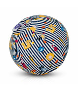 BubaBloon Balloon Cover Blue Animal Stripes