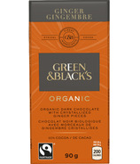 Green & Black's Organic Ginger Dark Chocolate