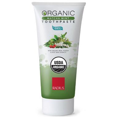 Radius USDA Organic Mint Aloe Neem Toothpaste Trial
