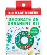 Kid Made Modern Decorate an Ornament Kit Wreath