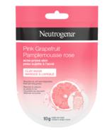 Neutrogena Pink Grapefruit Acne-Prone Skin Clay Mask