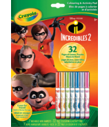 Crayola Colouring and Activity Pad Incredibles 2