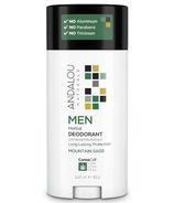 ANDALOU naturals MEN Herbal Deodorant à la sauge de montagne